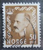 Poštovní známka Norsko 1951 Král Haakon VII. Mi# 364