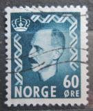Poštovní známka Norsko 1951 Král Haakon VII. Mi# 367