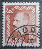 Poštovní známka Norsko 1951 Král Haakon VII. Mi# 368