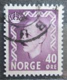 Poštovní známka Norsko 1955 Král Haakon VII. Mi# 398