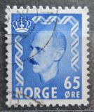 Poštovní známka Norsko 1956 Král Haakon VII. Mi# 399