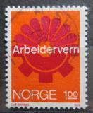 Poštovní známka Norsko 1974 Pracovní prostředí Mi# 686