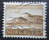 Poštovní známka Norsko 1977 Citadela Steinviksholm Mi# 740