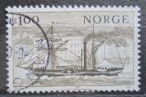 Poštovní známka Norsko 1977 Parník Mi# 747