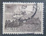 Poštovní známka Norsko 1977 Lov sleďů Mi# 751