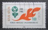 Poštovní známka Norsko 1980 Křesťanský svaz mládeže Mi# 809