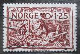 Poštovní známka Norsko 1980 Řemeslné umění, NORDEN Mi# 821