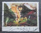 Poštovní známka Norsko 1980 Umění, Nikolai Astrup Mi# 823