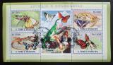 Poštovní známky Svatý Tomáš 2007 Motýli Mi# 3008-11 Kat 12€