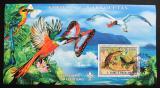 Poštovní známka Svatý Tomáš 2007 Fauna, skauting Mi# Block 590 Kat 11€