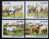 Poštovní známky Svatý Tomáš 2010 Koně Mi# 4363-66 Kat 10€