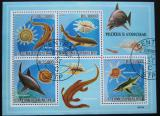 Poštovní známky Svatý Tomáš 2009 Pravěká fauna Mi# 4083-86 Kat 12€