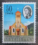 Poštovní známka Seychely 1962 Katolický kostel Mi# 203