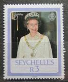 Poštovní známka Seychely 1986 Královna Alžběta II. Mi# 611