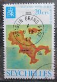 Poštovní známka Seychely 1976 Mapa Mi# 344