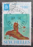 Poštovní známka Seychely 1976 Mapa Mi# 346