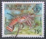 Poštovní známka Seychely Zil Elwannyen Sesel 1980 Langusta Mi# 8