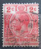 Poštovní známka Britský Honduras 1913 Král Jiří V. Mi# 67 a