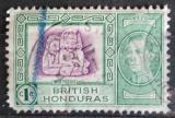 Poštovní známka Britský Honduras 1938 Máyové Mi# 112