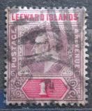 Poštovní známka Leewardovy ostrovy 1902 Král Edward VII. Mi# 21
