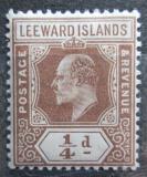 Poštovní známka Leewardovy ostrovy 1909 Král Edward VII. Mi# 36