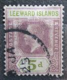 Poštovní známka Leewardovy ostrovy 1921 Král Jiří V. Mi# 70 Kat 6€