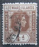 Poštovní známka Leewardovy ostrovy 1938 Král Jiří VI. Mi# 87