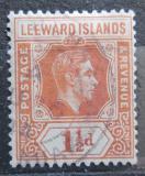 Poštovní známka Leewardovy ostrovy 1938 Král Jiří VI. Mi# 92