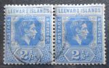 Poštovní známky Leewardovy ostrovy 1938 Král Jiří VI. pár Mi# 96