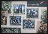 Poštovní známky SAR 2014 Gorily Mi# 4735-38 Kat 16€