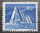 Poštovní známka Norsko 1981 Kostel v Tromsdalen Mi# 833