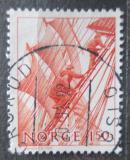 Poštovní známka Norsko 1981 Námořníci Mi# 839