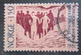 Poštovní známka Norsko 1981 Mezinárodní rok invalidů Mi# 845