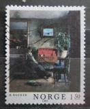 Poštovní známka Norsko 1981 Umění, Harriet Backer Mi# 847