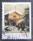 Poštovní známka Norsko 1982 Vánoce, umění Mi# 875 Dr