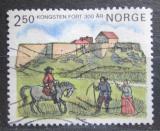 Poštovní známka Norsko 1985 Pevnost Kongsten, 300. výročí Mi# 923