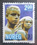 Poštovní známka Norsko 1985 Socha, Gustav Vigeland Mi# 924