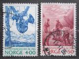 Poštovní známky Norsko 1985 Elektrifikace, 100. výročí Mi# 928-29