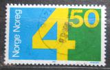 Poštovní známka Norsko 1987 Nominál Mi# 962