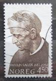 Poštovní známka Norsko 1987 Fartein Valen, skladatel Mi# 974