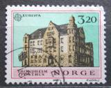 Poštovní známka Norsko 1990 Evropa CEPT, hlavní pošta Trondheim Mi# 1046