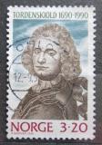 Poštovní známka Norsko 1990 Peter Wessel-Tordenskiold Mi# 1048