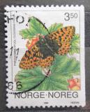 Poštovní známka Norsko 1994 Motýl Mi# 1144