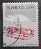 Poštovní známka Norsko 1994 Vánoce, sáňky Mi# 1170
