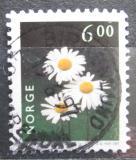 Poštovní známka Norsko 1997 Kopretina bílá Mi# 1234