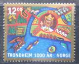 Poštovní známka Norsko 1997 Tronheim milénium Mi# 1258