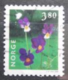 Poštovní známka Norsko 1998 Violka trojbarevná Mi# 1270