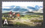 Poštovní známka Norsko 2007 Horská cyklistika Mi# 1611