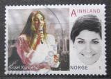 Poštovní známka Norsko 2011 Sissel Kyrkjebo, zpěvačka Mi# 1764 Kat 2.50€