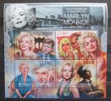 Poštovní známky Burundi 2012 Marilyn Monroe Mi# 2660-63 Kat 10€